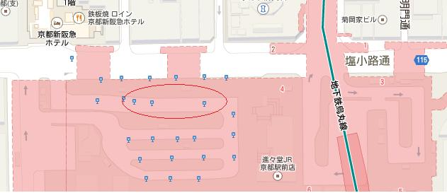 京都駅バス
